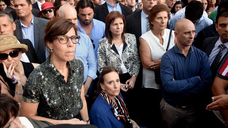 Laura Alonso, Gabriela Michetti, Patricia Bullrich, Sara Garfunkel y Martín Ocampo