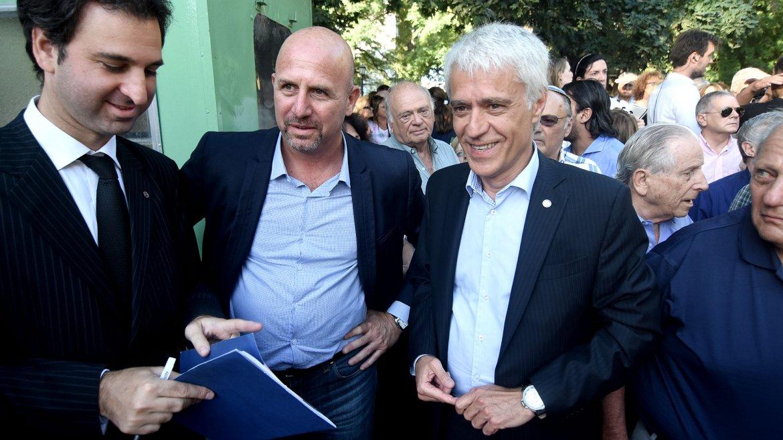 El diputado Waldo Wolff y el fiscal Ricardo Sáenz