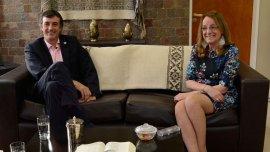 Esteban Bullrich con Alicia Kirchner