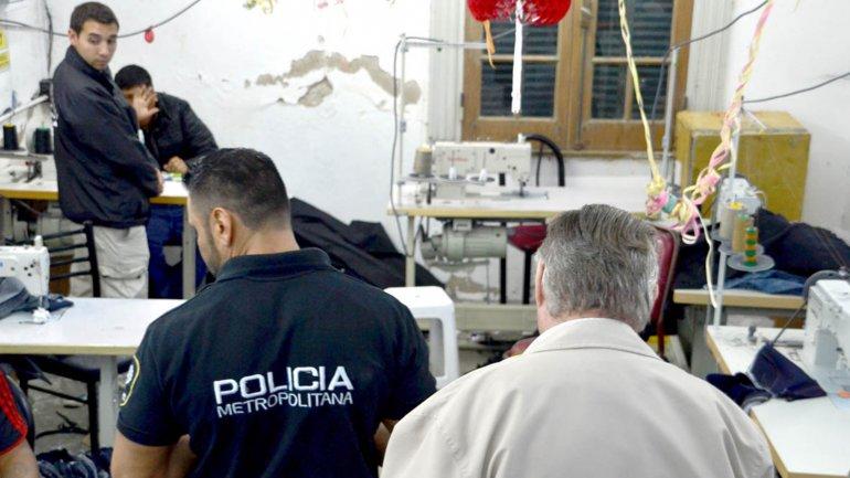 Junio de 2015: allanamiento en un taller de Parque Avellaneda