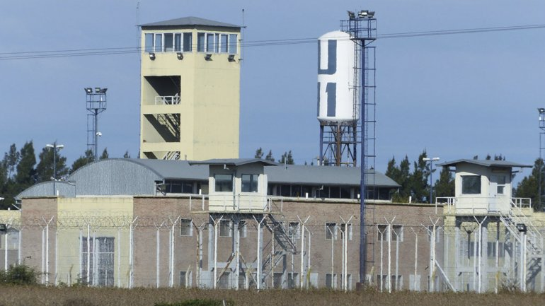 Frente de la cárcel de Piñero, donde está preso uno de los líderes de Los Monos