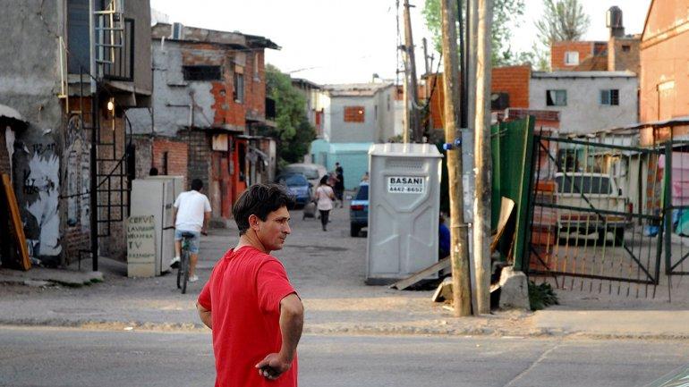 El asentamiento Zavaleta, uno de los lugares con más presencia narco