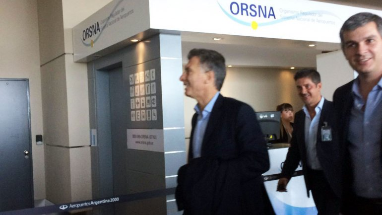 0014122677 - El presidente Macri llegó a Davos e inicia múltiples actividades en busca de inversiones
