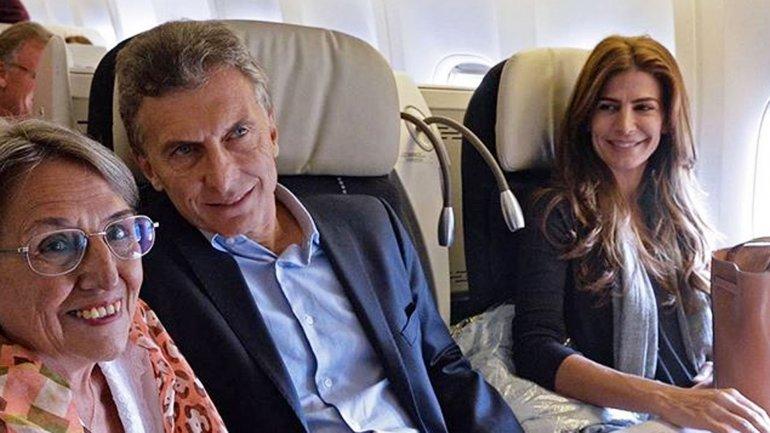 Mauricio Macri y Juliana Awada rumbo a Europa