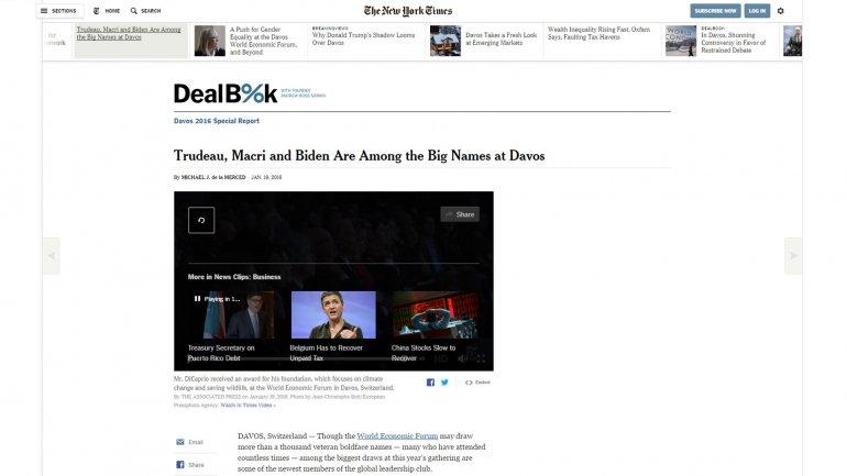 El artículo de The New York Times