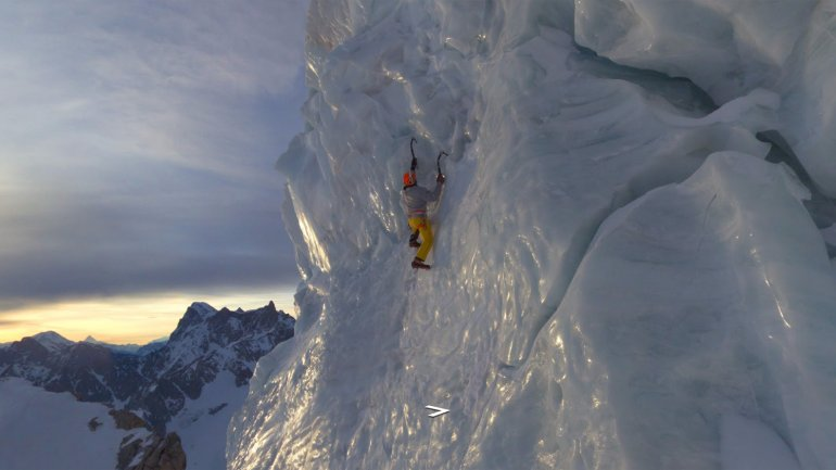 El ascenso al Mont Blanc con Street View