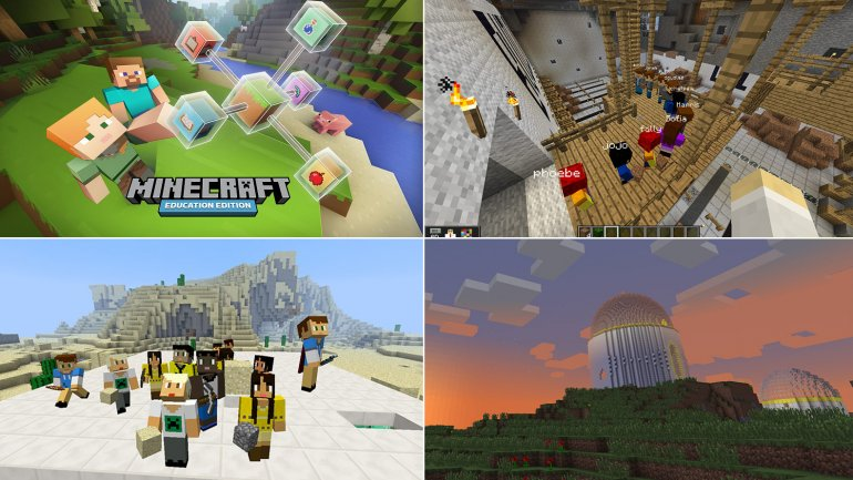 Minecraft desembarcará en las escuelas
