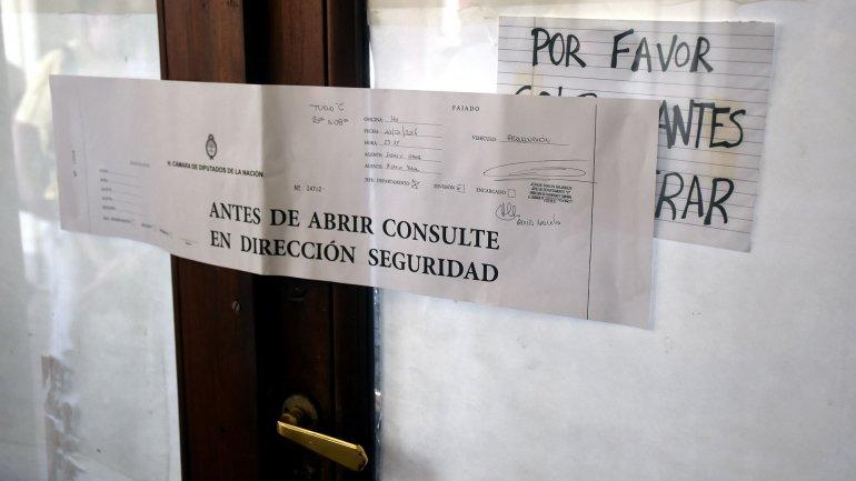 El despacho que generó polémica entre FpV y Cambiemos.