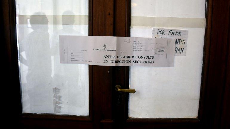 El despacho de Máximo Kirchner fue blanco de una inédita disputa en Diputados