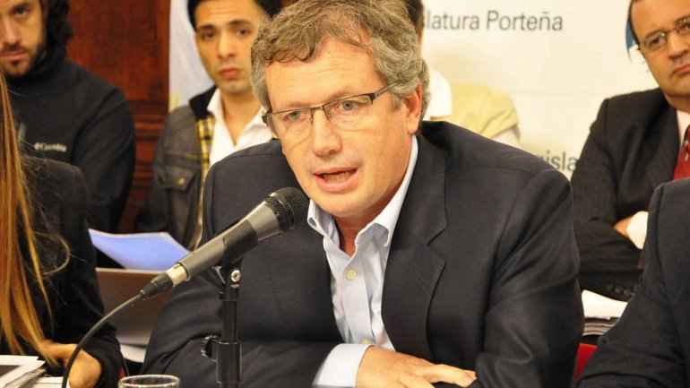 Emilio Monzó, presidente de la Cámara de Diputados
