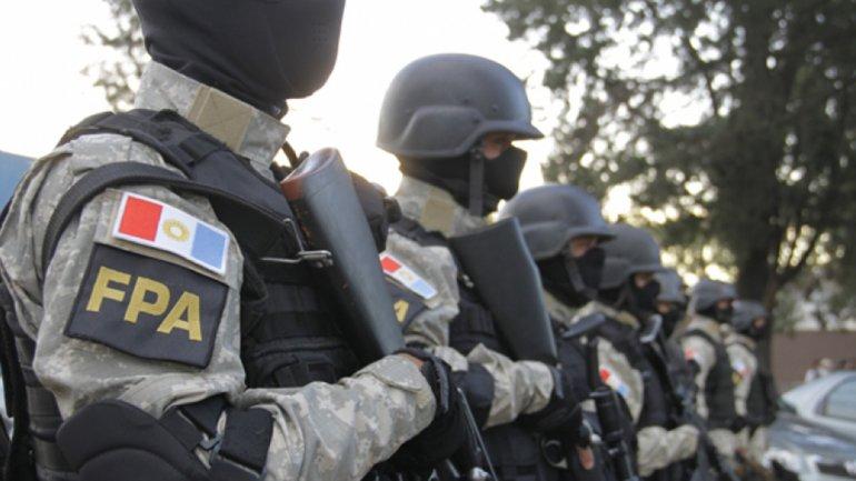 La Fuerza Policial Antinarcóticos que creó el gobernador José Manuel de la Sota.