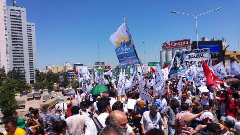 El Gobierno aprobó el protocolo para manifestaciones públicas en la misma jornada de piquetes que exigían la liberación de Milagro Sala.
