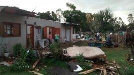 Unas 15 casas sufrieron daños graves