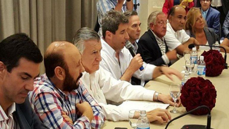Cumbre de gobernadores del PJ en San Juan.