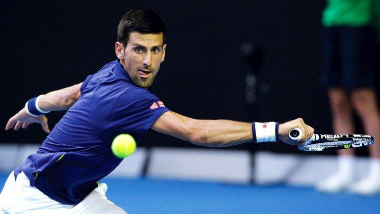 Djokovic alcanzó su quinta final seguida en un Grand Slam.