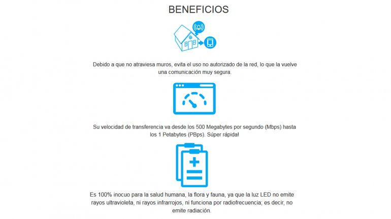 Beneficios de Li-Fi