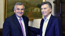 Mauricio Macri junto a Gerardo Morales (Imagen de archivo)