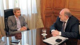 Carlos Verna junto a Rogelio Frigerio