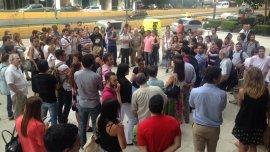 Protestas por despidos en Fabricaciones Militares
