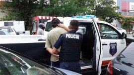 El trapito detenido en Mar del Plata