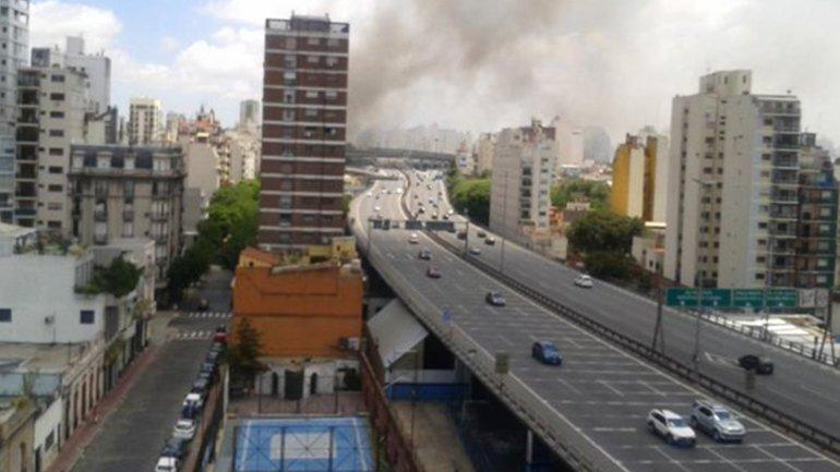 Incendio en Canal 13 y TN: evacuaron al personal