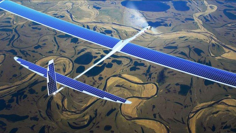 Solara 50 de Titan Aerospace
