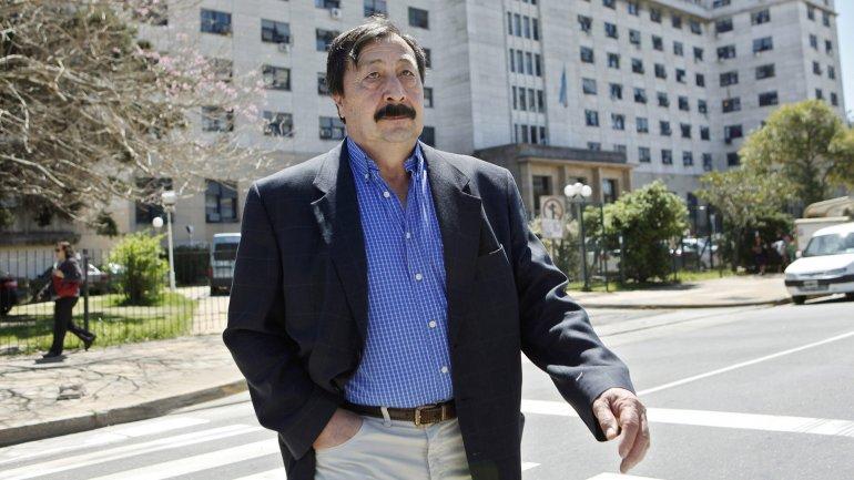 Galvarino Apablaza, en una de sus últimas apariciones en Tribunales
