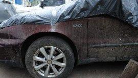 Los balazos recibidos en el auto de Leonel Iván Mafud (26)