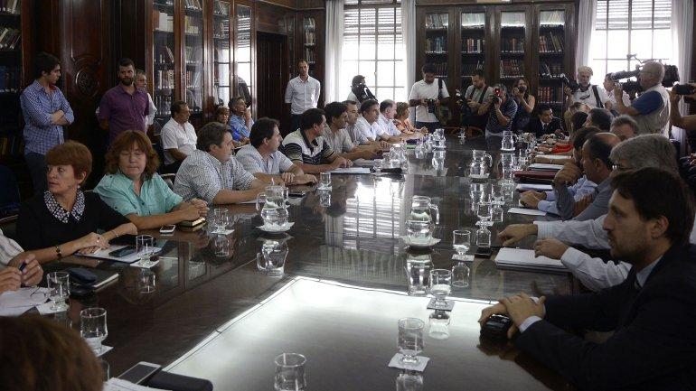 Las negociaciones se reanudarán el próximo 12 de febrero, dos semanas antes de que comience el ciclo lectivo 2016