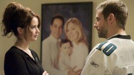 Jennifer Lawrence y Bradley Cooper en El lado luminoso de la vida.