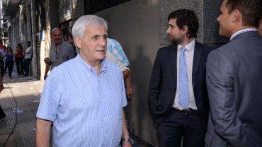 Antonio Caló, en la última reunión del PJ