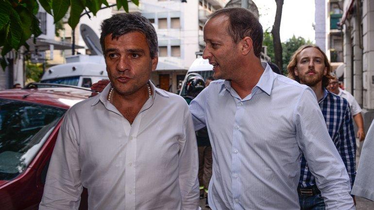 Martín Insaurralde participó anoche del Congreso Nacional del PJ