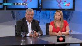 Los diputados Rubén Miranda y Teresita Madera, del nuevo Bloque Justicialista