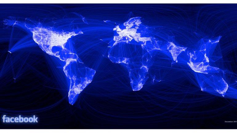 Así se relacionaban los usuarios de Facebook en 2010
