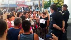 Los vecinos de General Rodríguez se movilizaron el martes para exigir la captura del violador serial.
