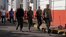 Gendarmería Nacional fue elegida para intervenir en la junta interdisciplinaria