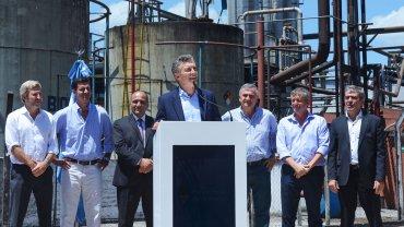 Mauricio Macri encabezó ayer un acto en Tucumán