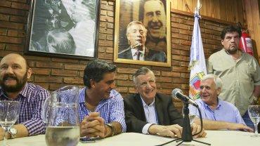 José Luis Gioja participó de la reunión del Consejo del PJ del miércoles pasado