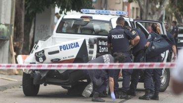 Así quedó el patrullero que la semana pasada mató a una jubilada en Villa Ballester