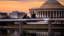 El tubo por donde se desplazarás las cápsulas de Hyperloop