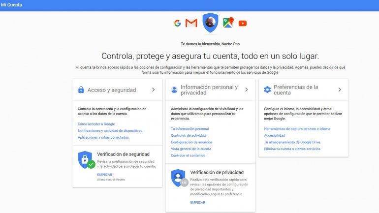 Completar la Verificación de seguridad otorga 2GB extras para Drive, Gmail y Fotos