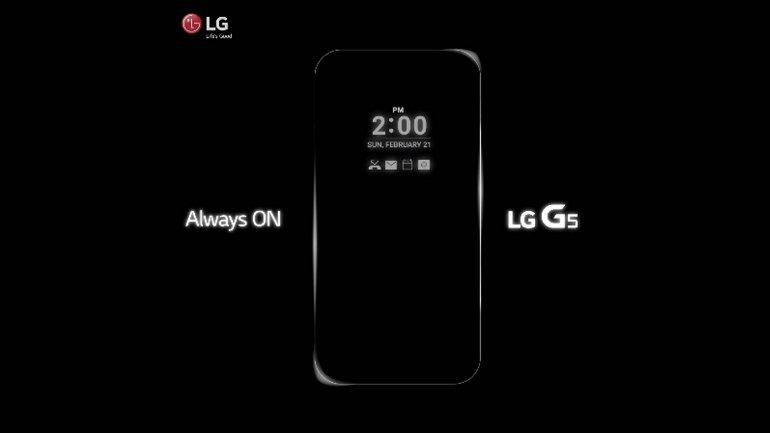 LG comenzó a mostrar su G5