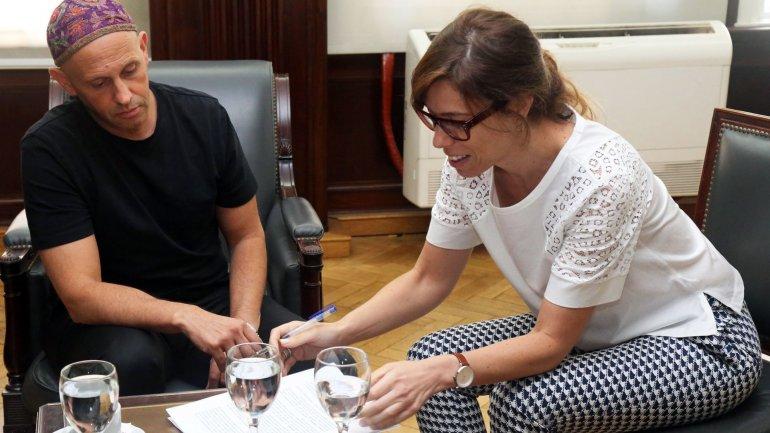 Sergio Bergman y Laura Alonso