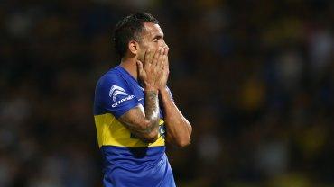 Tevez se lamenta por el momento de Boca.