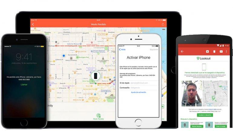 Aplicaciones para encontrar teléfonos robados
