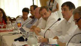 Esteban Bullrich durante una nueva reunión del Consejo Federal de Educación