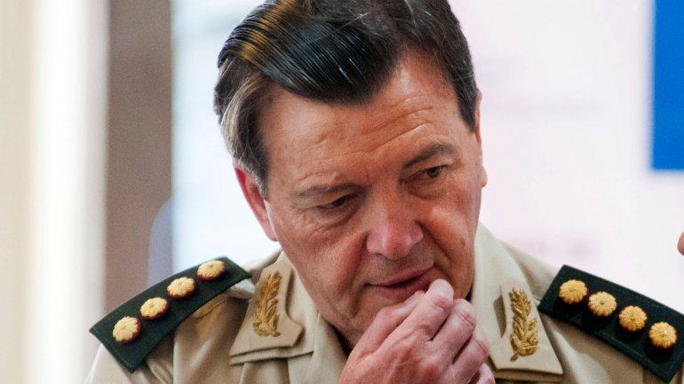 El ex jefe del Ejército César Milani