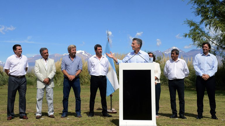 Mauricio Macri hizo el anuncio en San Juan