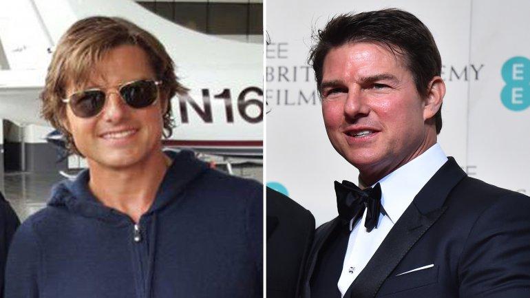 Tom Cruise se mostró muy distinto durante los premios BAFTA en Londres
