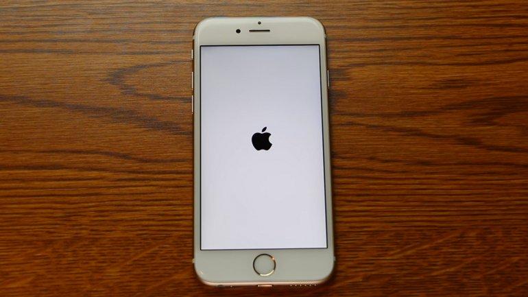 Así queda el iPhone al reiniciarlo tras cambiar la fecha al 1 de enero de 1970